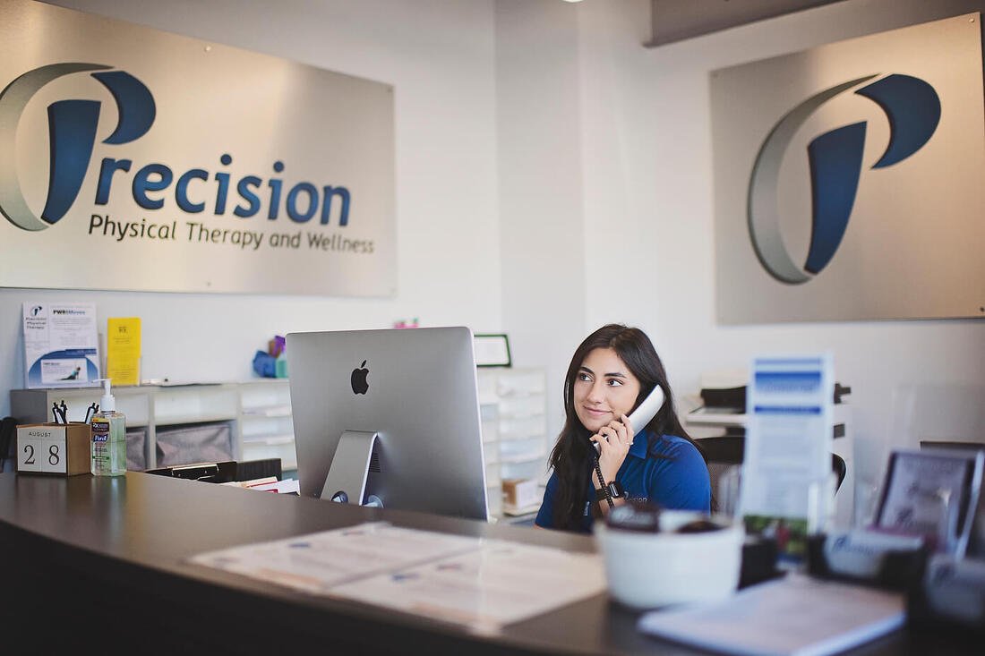 friendly staff at Precision Physical Therapy